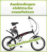 Alle elektrische vouwfiets aanbiedingen